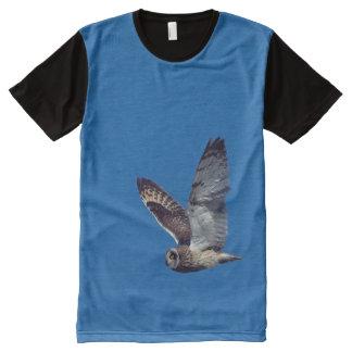 Fauna Cortocircuito-Espigada T del búho en vuelo -