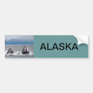 Fauna de Alaska Etiqueta De Parachoque