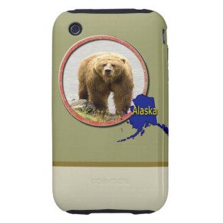 Fauna de Alaska Carcasa Though Para iPhone 3