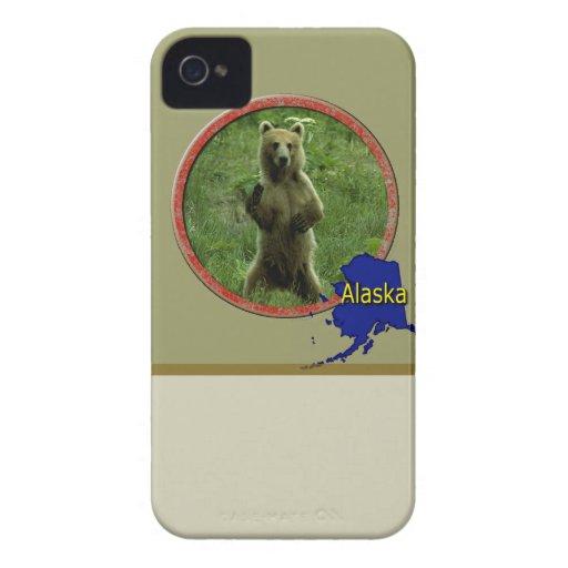Fauna de Alaska Case-Mate iPhone 4 Cobertura