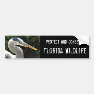 Fauna de la Florida Pegatina De Parachoque