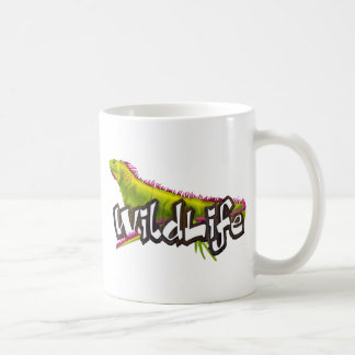 Fauna de la iguana taza