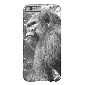 Fauna del africano del gorila funda de iPhone 6 barely there