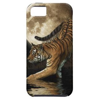 Fauna del tigre de Bengala de la caza y del gato Funda Para iPhone SE/5/5s