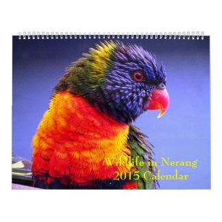Fauna en el calendario de Nerang 2015