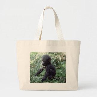 Fauna fijada - primates 8 bolsa tela grande