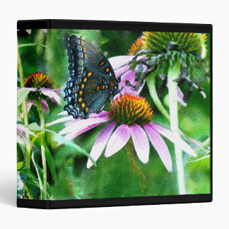 "Fauna floral de la flor de mariposa de Swallowtail Carpeta 1 1/2"""