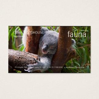 Fauna - Koala Business Card