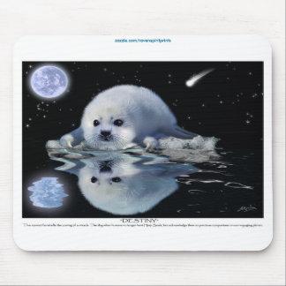 Fauna Mousepad del perrito de foca de Groenlandia Alfombrilla De Ratones