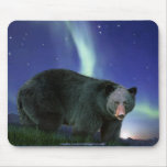 Fauna-partidario Mousepad del arte del oso negro