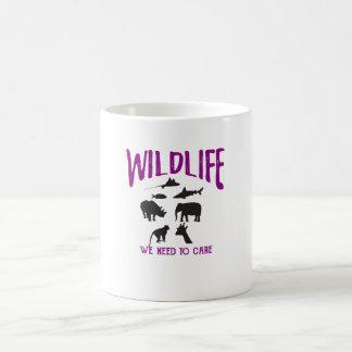 Fauna que necesitamos cuidar la taza inspirada