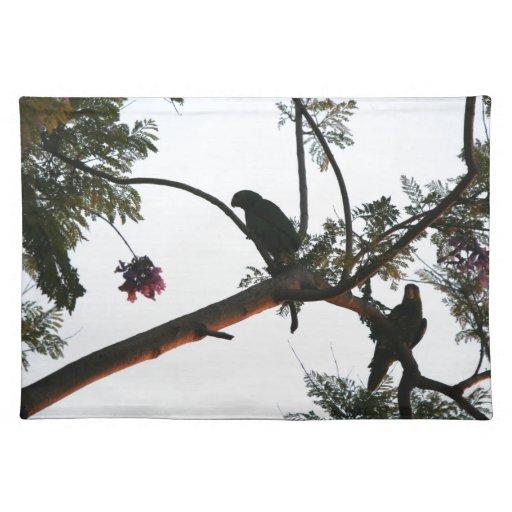 Fauna salvaje de los animales de los pájaros del mantel