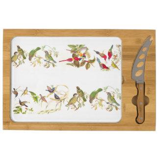 Fauna Sunbird animal/tablero del queso de los