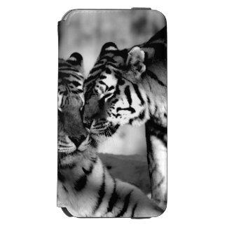 Fauna, tigre asombroso funda billetera para iPhone 6 watson