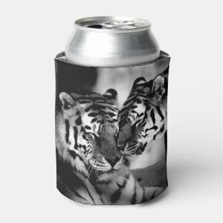 Fauna, tigre asombroso enfriador de latas