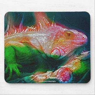 Fauna verde Mousemat del arte de la fantasía de la Tapete De Raton