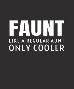 1daa4bfd Faunt Like A Regular Aunt Only Cooler Definition G Hoodie