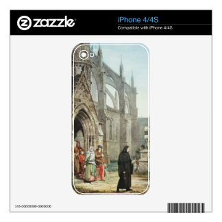 Faust and Marguerite, 1857 (w/c on paper) Decals For iPhone 4