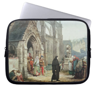 Faust and Marguerite, 1857 (w/c on paper) Laptop Computer Sleeve