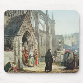 Faust and Marguerite, 1857 (w/c on paper) Mouse Pad