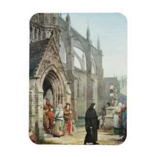 Faust and Marguerite, 1857 (w/c on paper) Rectangular Photo Magnet