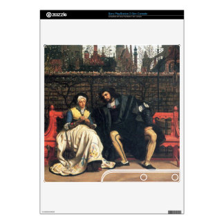 Faust and Marguerite in the garden by James Tissot PS3 Slim Console Decal