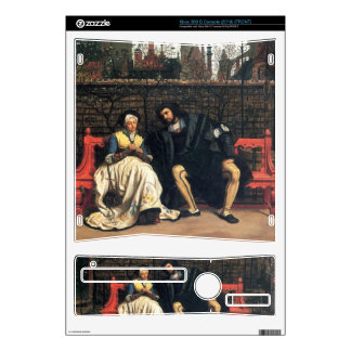 Faust and Marguerite in the garden by James Tissot Xbox 360 S Console Decal