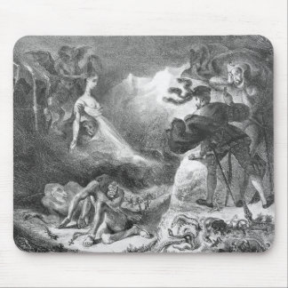 Faust and Mephistopheles at the Witches' Mouse Pad