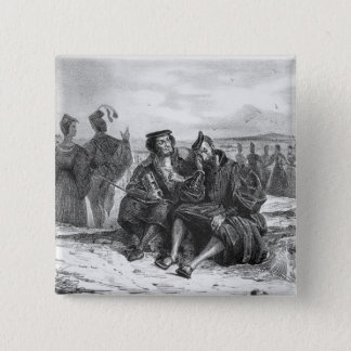 Faust and Wagner in conversation Pinback Button