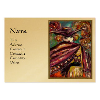 FAUST , Gold Metallic Paper Business Cards