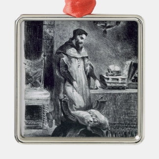 Faust in his Study, from Goethe's Faust, 1828, (il Metal Ornament