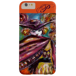 FAUST / Mysterious Mask ,Tricorn and Owl Monogram Barely There iPhone 6 Plus Case