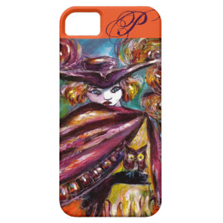 FAUST / Mysterious Mask ,Tricorn and Owl Monogram iPhone SE/5/5s Case