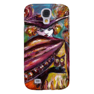 FAUST / Mysterious Mask with Tricorn and Owl Samsung S4 Case