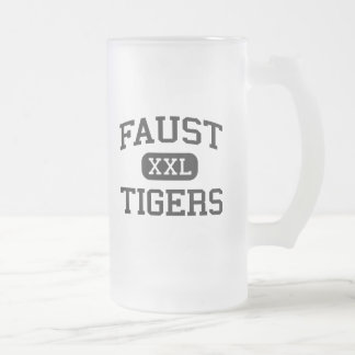 Faust - Tigers - Junior - Chambersburg Frosted Glass Beer Mug