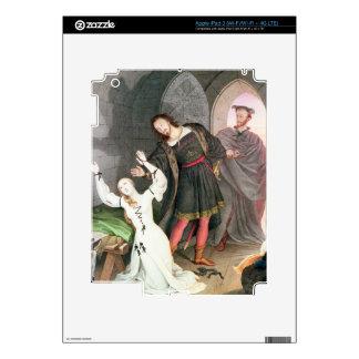 Fausto 1828 tinta y w c iPad 3 pegatina skin