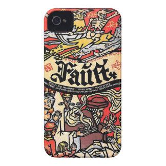 Fausto 1926 Case-Mate iPhone 4 funda