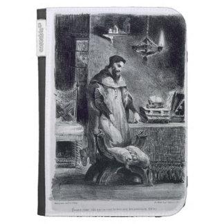 Fausto en su estudio de Fausto de Goethe 1828