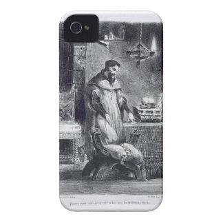Fausto en su estudio de Fausto de Goethe 1828 iPhone 4 Cárcasas