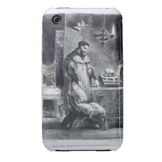 Fausto en su estudio, de Fausto de Goethe, 1828, Funda Para iPhone 3
