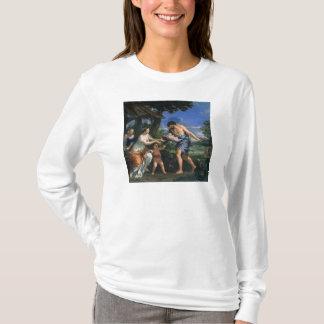 Faustulus entrusting Romulus and Remus T-Shirt