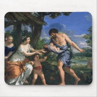 Faustulus Romulus y Remus de confianza Tapetes De Raton
