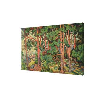 Fauve Landscape, 1910 Gallery Wrapped Canvas