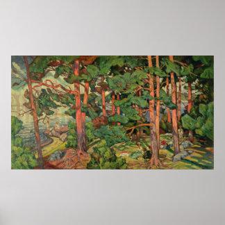 Fauve Landscape, 1910 Print