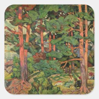 Fauve Landscape, 1910 Square Sticker