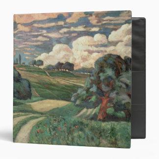 Fauve Landscape Vinyl Binder