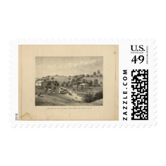 Fauver residence postage