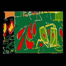 Fauvism: Abstract Curtains Matisse Style posters