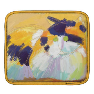 Fauvist calico sleeve for iPads