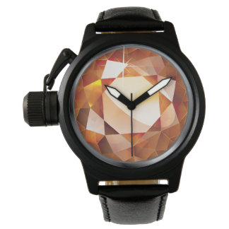 "Faux ""Amber"" Wristwatches"